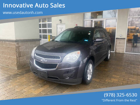 2014 Chevrolet Equinox for sale at Innovative Auto Sales in North Hampton NH