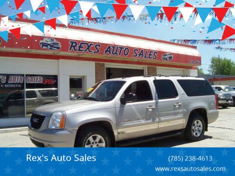 2007 GMC Yukon XL for sale at Rex's Auto Sales in Junction City KS
