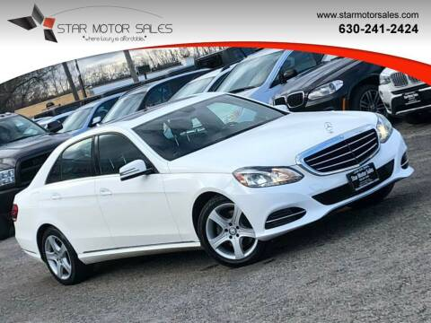 2014 Mercedes-Benz E-Class for sale at Star Motor Sales in Downers Grove IL