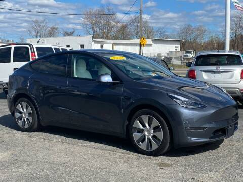 2020 Tesla Model Y for sale at MetroWest Auto Sales in Worcester MA
