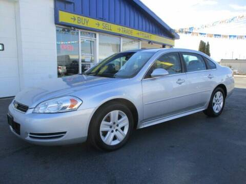 2011 Chevrolet Impala for sale at Affordable Auto Rental & Sales in Spokane Valley WA