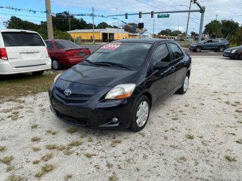 2007 Toyota Yaris for sale at SKYLINE AUTO SALES LLC in Winter Haven FL