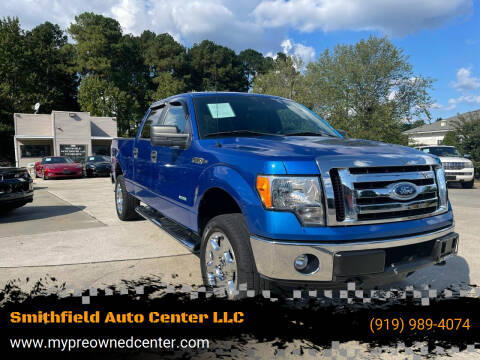2011 Ford F-150 for sale at Smithfield Auto Center LLC in Smithfield NC