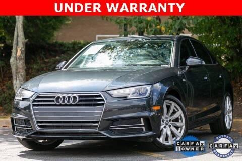 2018 Audi A4 for sale at Gravity Autos Atlanta in Atlanta GA
