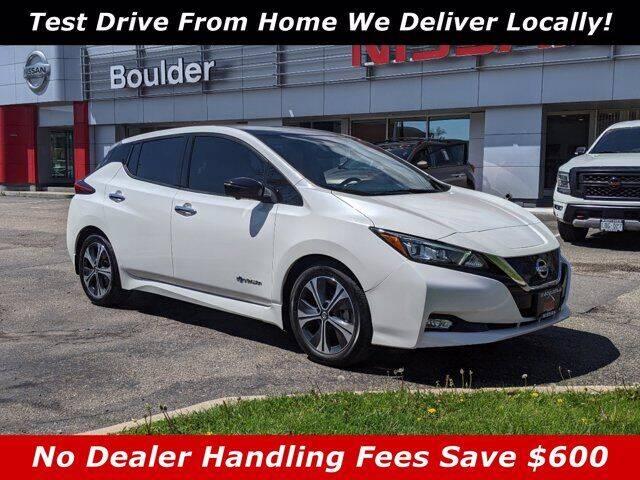 2018 Nissan LEAF for sale in Boulder, CO