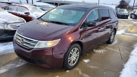 2012 Honda Odyssey for sale at George's Used Cars - Pennsylvania & Allen in Brownstown MI