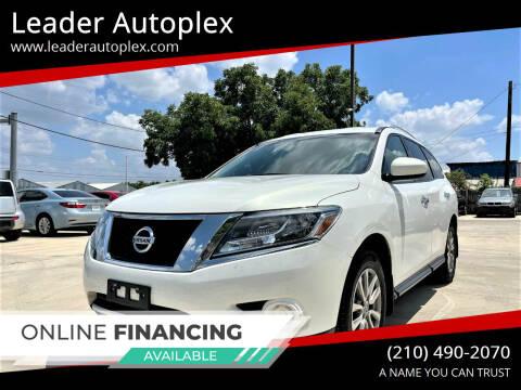 2014 Nissan Pathfinder for sale at Leader Autoplex in San Antonio TX