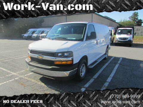 2018 Chevrolet Express Cargo for sale at Work-Van.com in Union City GA