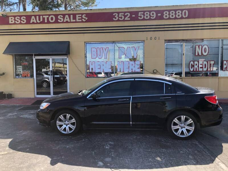 2012 Chrysler 200 for sale at BSS AUTO SALES INC in Eustis FL