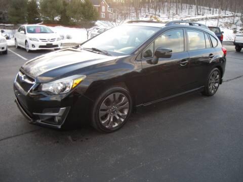 2015 Subaru Impreza for sale at 1-2-3 AUTO SALES, LLC in Branchville NJ