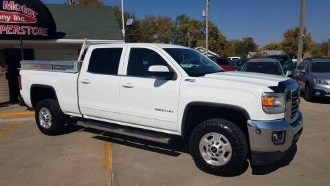2015 GMC Sierra 2500HD for sale at DICK'S MOTOR CO INC in Grand Island NE