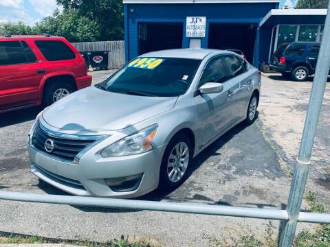 2013 Nissan Altima for sale at JJ's Auto Sales in Independence MO