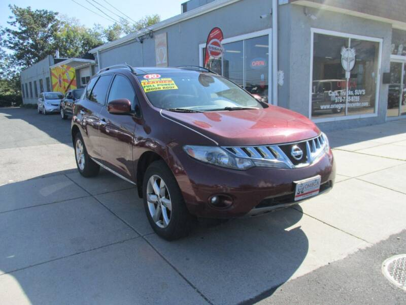 2010 Nissan Murano for sale at Omega Auto & Truck Center, Inc. in Salem MA