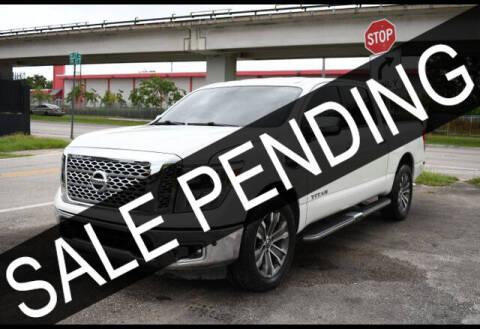 2017 Nissan Titan for sale at AE Of Miami in Miami FL