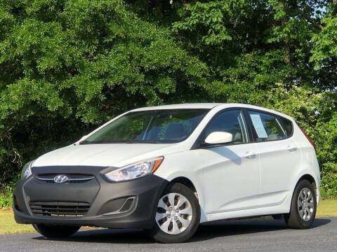 2015 Hyundai Accent for sale at Global Pre-Owned in Fayetteville GA