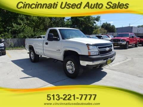 2006 Chevrolet Silverado 2500HD for sale at Cincinnati Used Auto Sales in Cincinnati OH