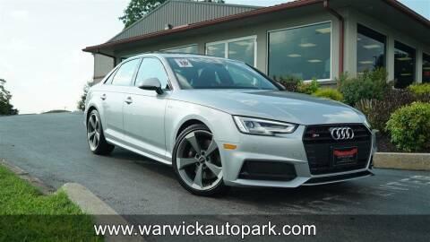 2018 Audi S4 for sale at WARWICK AUTOPARK LLC in Lititz PA
