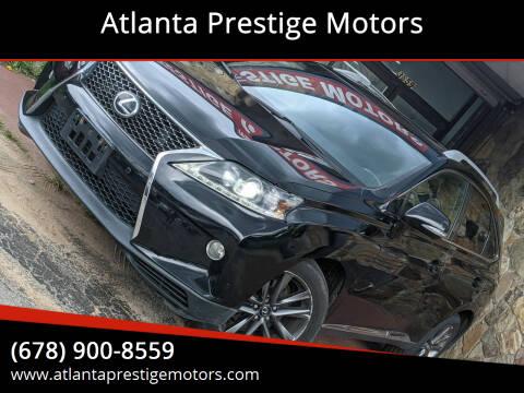 2013 Lexus RX 350 for sale at Atlanta Prestige Motors in Decatur GA