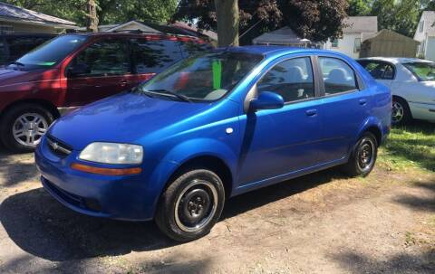 2005 Chevrolet Aveo for sale at Antique Motors in Plymouth IN