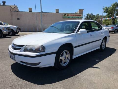 2000 Chevrolet Impala for sale at C J Auto Sales in Riverbank CA