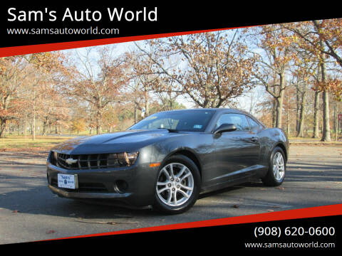 2013 Chevrolet Camaro for sale at Sam's Auto World in Roselle NJ