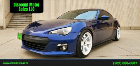 2013 Subaru BRZ for sale at Discount Motor Sales LLC in Wenatchee WA