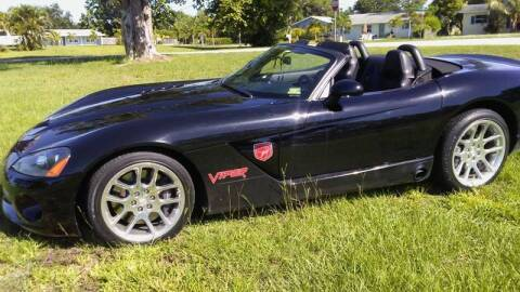 2003 Dodge Viper for sale at AFFORDABLE AUTO SALES OF STUART in Stuart FL