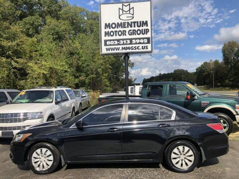 2012 Honda Accord for sale at Momentum Motor Group in Lancaster SC
