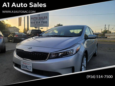 2017 Kia Forte for sale at A1 Auto Sales in Sacramento CA