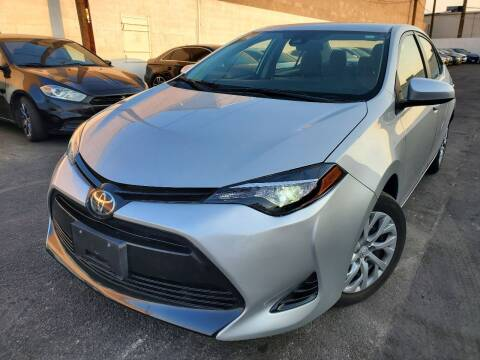 2018 Toyota Corolla for sale at Auto Center Of Las Vegas in Las Vegas NV