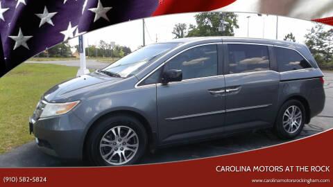 2012 Honda Odyssey for sale at Carolina Motors at the Rock in Rockingham NC