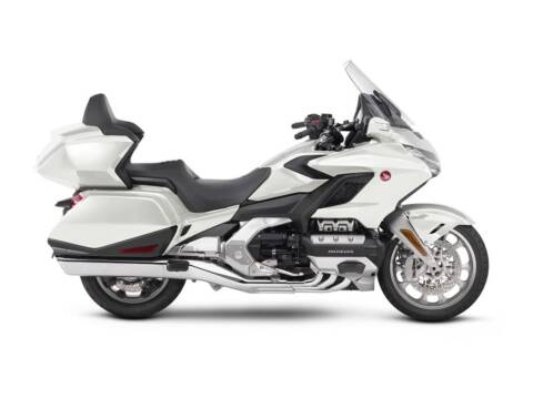 2018 Honda Gold Wing Tour Pearl White for sale at Road Track and Trail in Big Bend WI