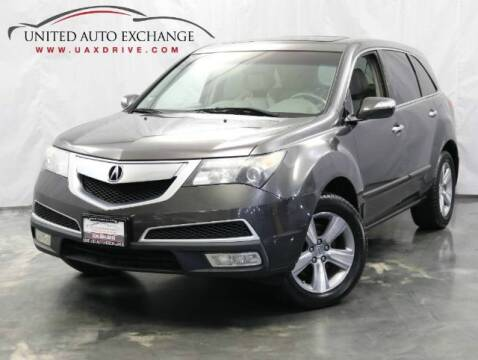2011 Acura MDX for sale at United Auto Exchange in Addison IL