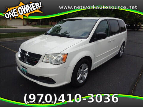 2013 Dodge Grand Caravan for sale at Network Auto Source in Loveland CO