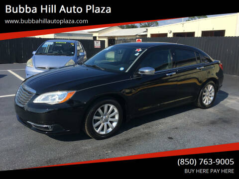 2013 Chrysler 200 for sale at Bubba Hill Auto Plaza in Panama City FL