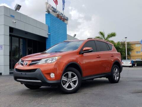 2015 Toyota RAV4 for sale at Tech Auto Sales in Hialeah FL