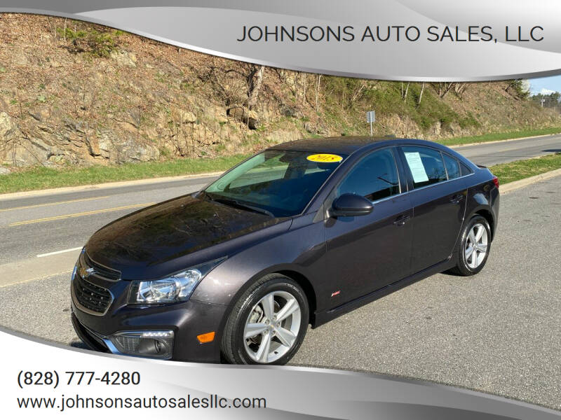 2015 Chevrolet Cruze for sale at Johnsons Auto Sales, LLC in Marshall NC