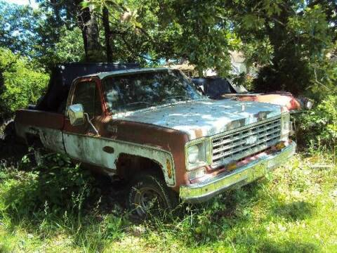 1979 Chevrolet Silverado 1500 SS Classic for sale at Haggle Me Classics in Hobart IN