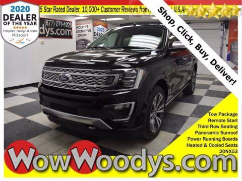 2020 Ford Expedition for sale at WOODY'S AUTOMOTIVE GROUP in Chillicothe MO