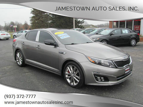2014 Kia Optima for sale at Jamestown Auto Sales, Inc. in Xenia OH