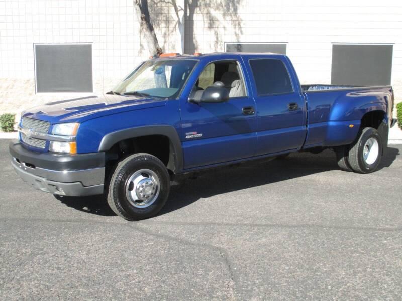 2003 Chevrolet Silverado 3500 for sale at COPPER STATE MOTORSPORTS in Phoenix AZ