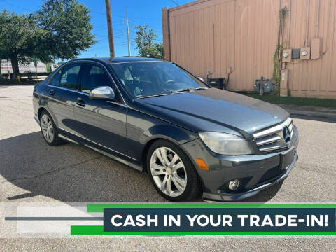 2009 Mercedes-Benz C-Class for sale at Horizon Auto Sales in Raleigh NC