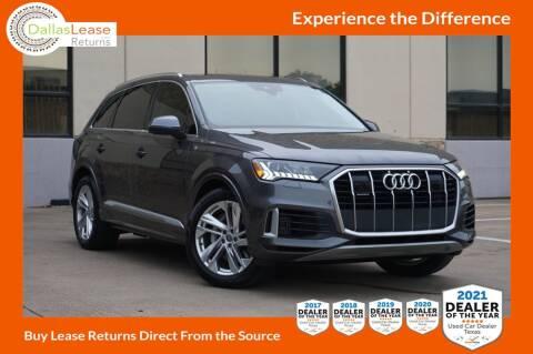 2020 Audi Q7 for sale at Dallas Auto Finance in Dallas TX