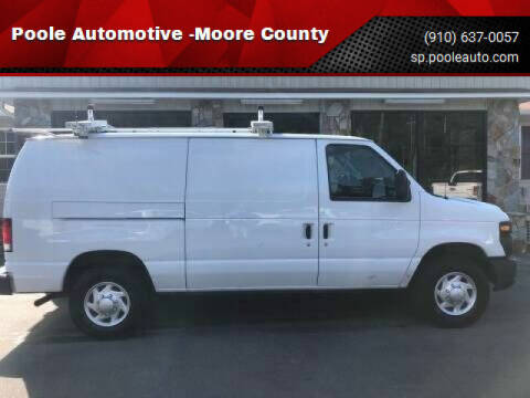 2013 Ford E-Series Cargo for sale at Poole Automotive in Laurinburg NC