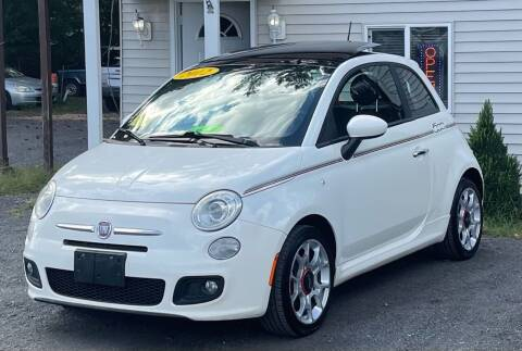 2012 FIAT 500 for sale at Landmark Auto Sales Inc in Attleboro MA