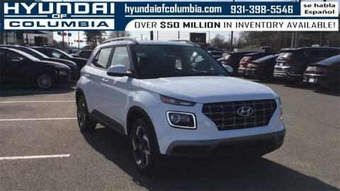2021 Hyundai Venue for sale at Hyundai of Columbia Con Alvaro in Columbia TN
