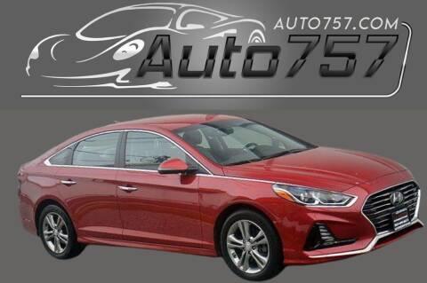 2018 Hyundai Sonata for sale at Auto 757 in Norfolk VA