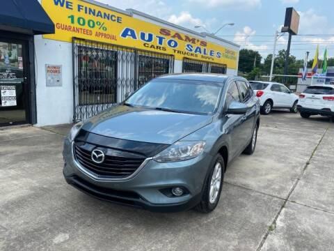 2013 Mazda CX-9 for sale at Sam's Auto Sales in Houston TX