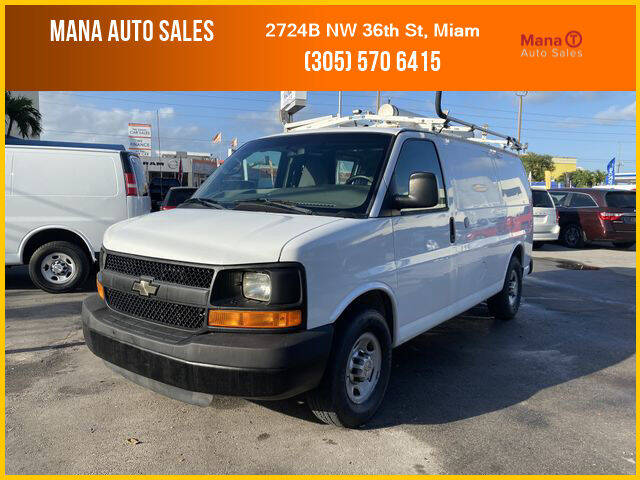 2012 Chevrolet Express Cargo for sale at MANA AUTO SALES in Miami FL