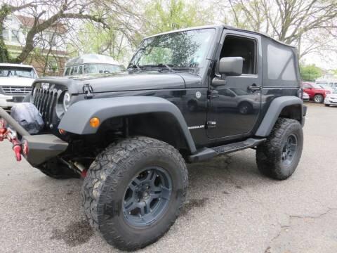 2010 Jeep Wrangler for sale at US Auto in Pennsauken NJ